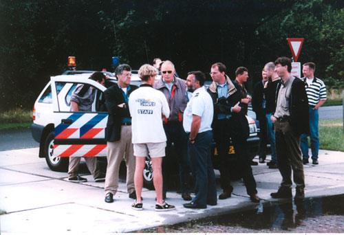 Politie-bij-lancering