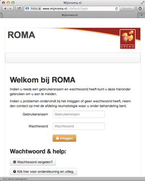 mijnroma-nl-patiëntenportaal