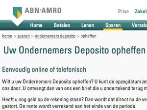 ABN-Amro-opheffen
