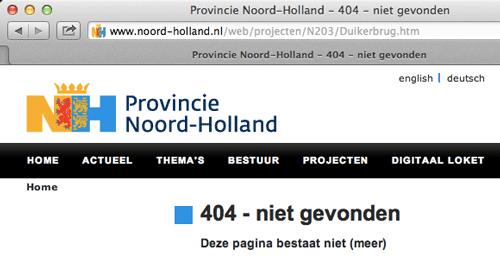 pagina-Noord-Holland-bestaat-niet-meer